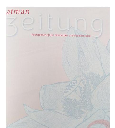Gastartikel von Regina Schmitt bei der atman Zeitung - Fachzeitschrift für interative Atemtherapie zum Thema Beckenboden und Atmung