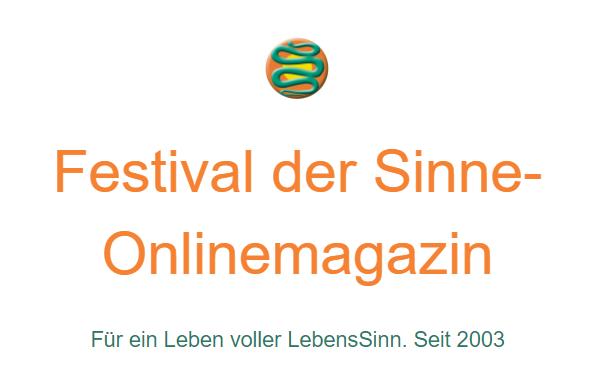 Festival der Sinne Online-Magazin