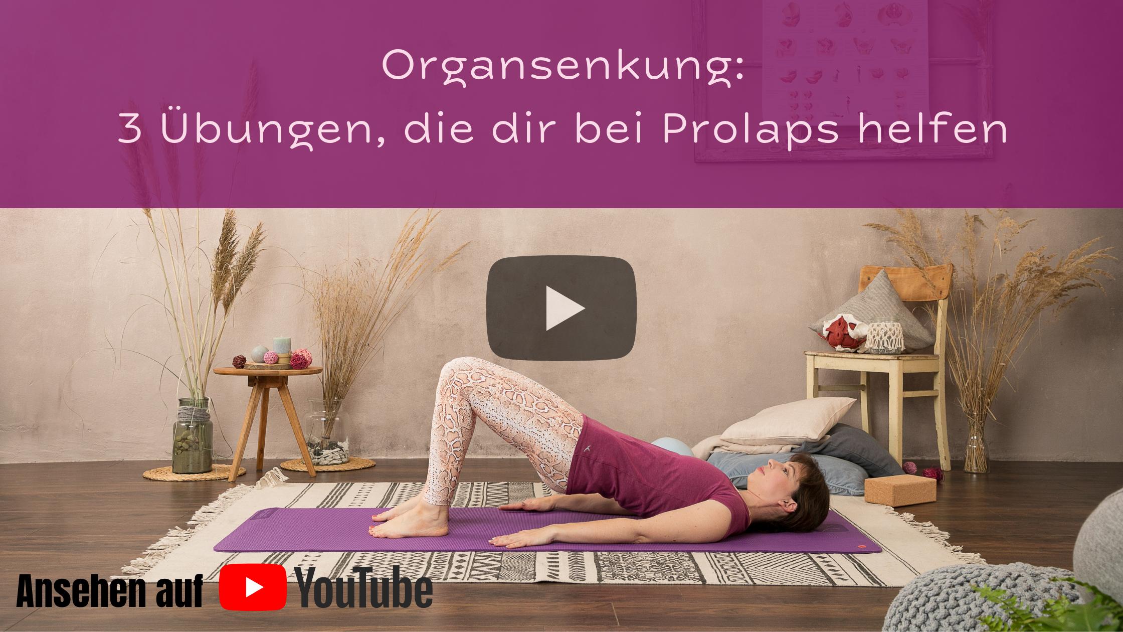 Video: Welche Übungen helfen bei Organsenkung?